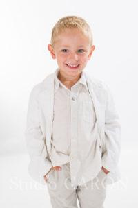 portrait enfant en studio chez photographe