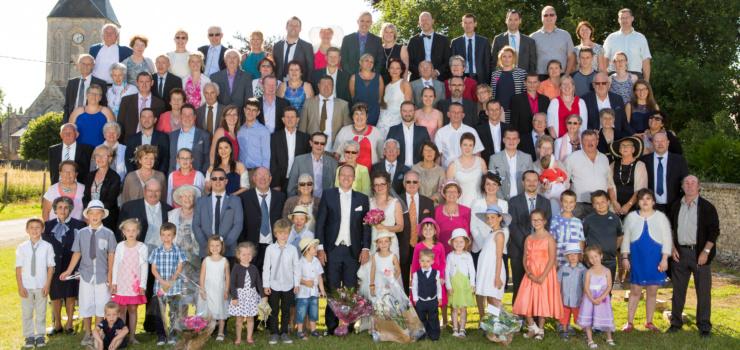Photo groupe mariage