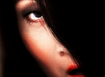 Portrait féminin artistique