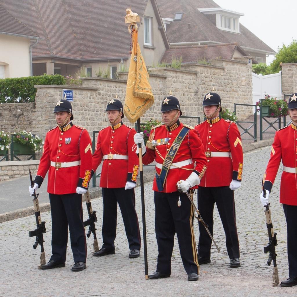 Commémoration 6 Juin 2016 Arromanches