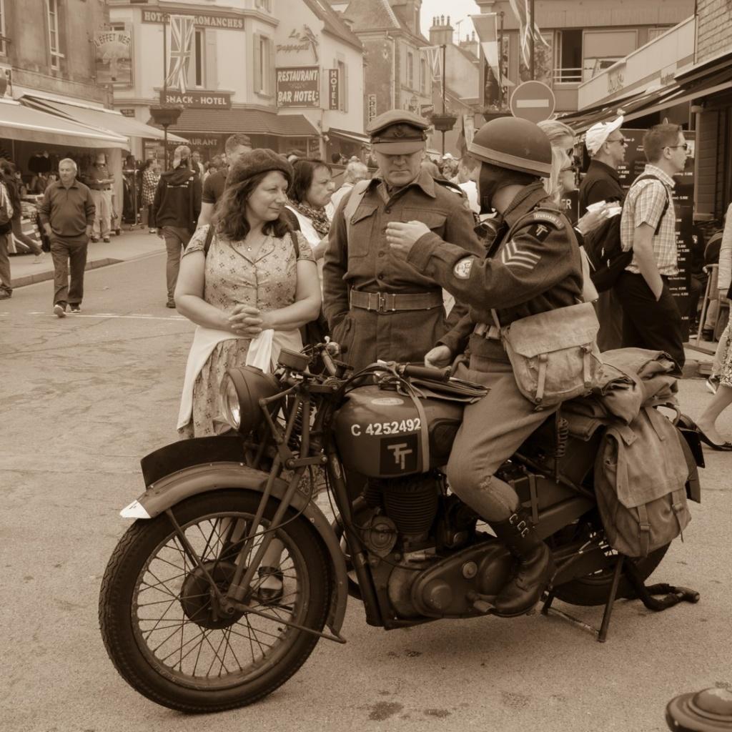 Défilé Arromanches