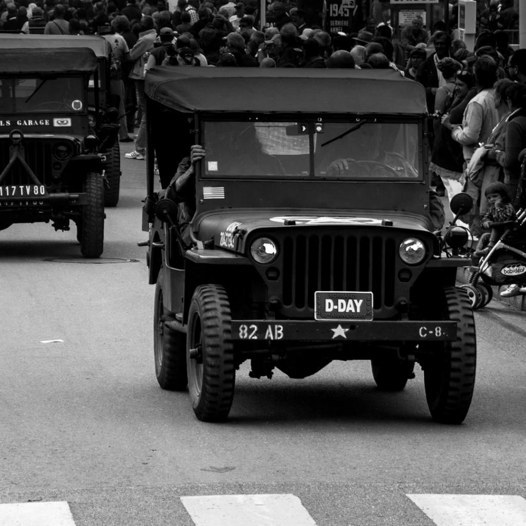 Défilé Commémoration 72 D-day