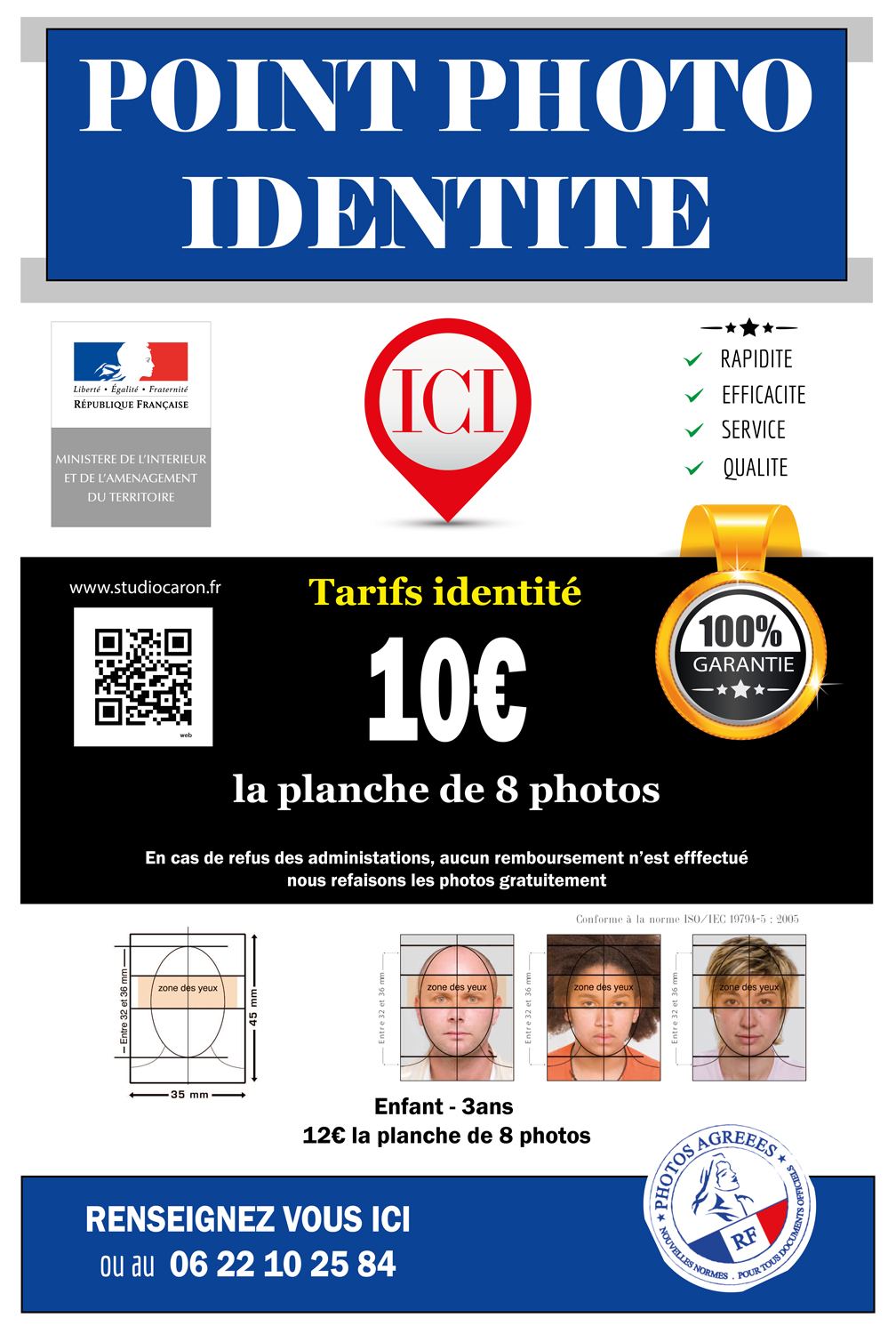 Point photo identité