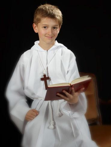 séance photo première communion