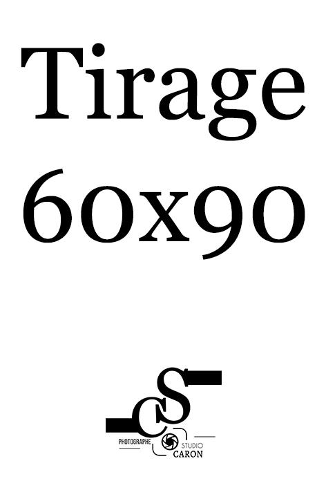 Tirage 60x90