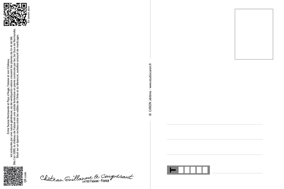 Verso De La Carte Postale