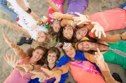 Groupe de filles deauville